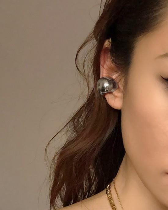 VICKIE Silver Ear Cuff | Big Size
