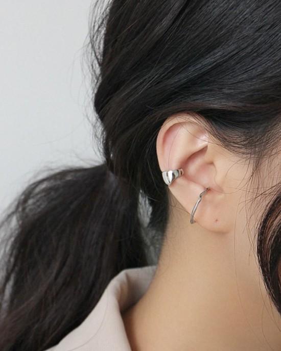 ZOE Sterling Silver Ear Cuff