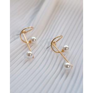 CLEF Pearl Earrings