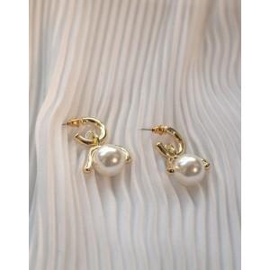 COCO Pearl Drop Earrings