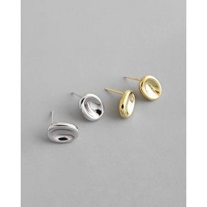 DAWN Gold Vermeil Stud Earrings