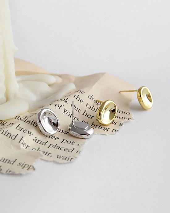 DAWN Gold Vermeil Stud Earrings