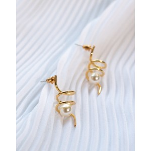 FUSILLI Pearl Earrings