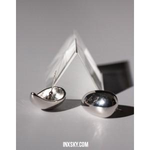 GIA Silver Earrings