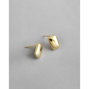 IDA Gold Vermeil Stud Earrings