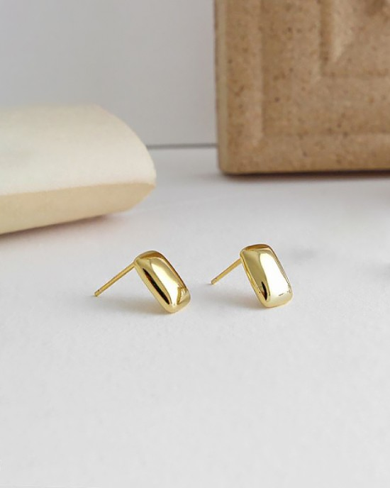 IDA Gold Vermeil Stud Earrings