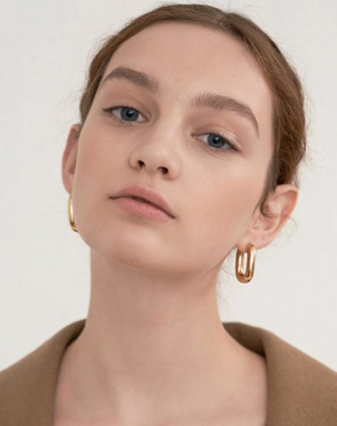 IVY Gold Hoop Earrings