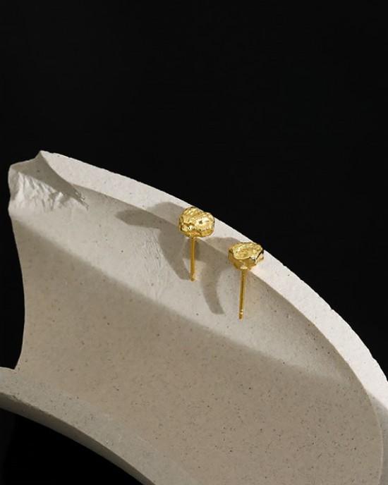 JESS Gold Vermeil Stud Earrings