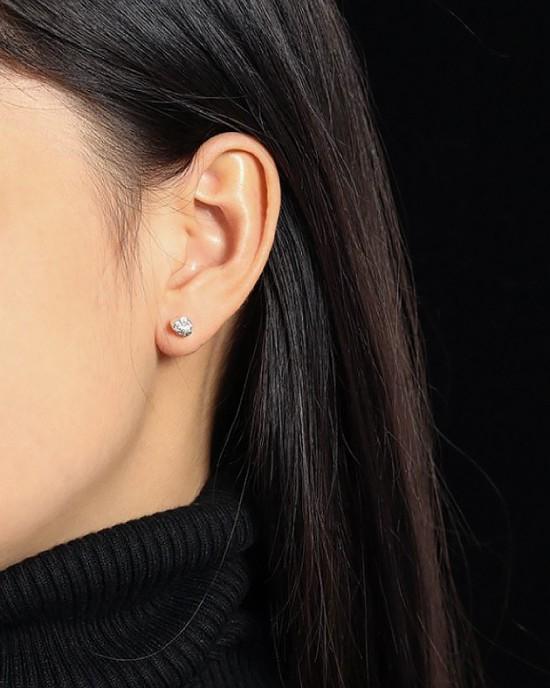 JESS Sterling Silver Stud Earrings