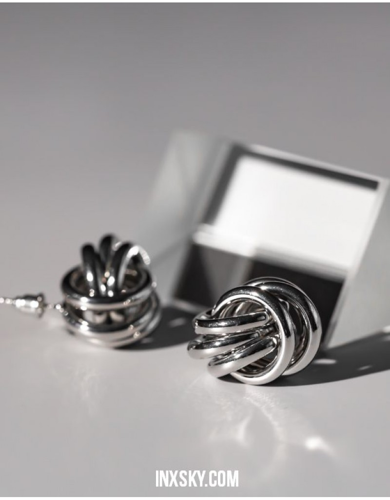 KNOT Silver Earrings