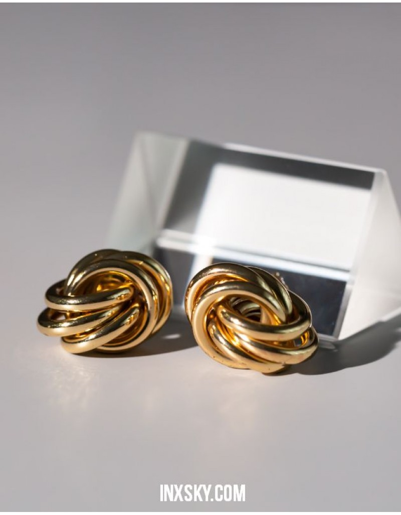 KNOT Gold Earrings