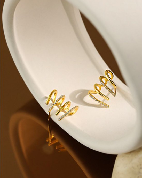 LILITH Gold Vermeil Earrings