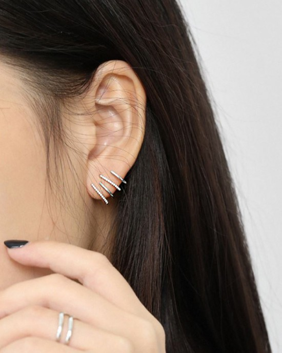 LILITH Sterling Silver Earrings