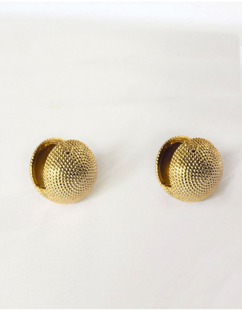OLIVIA Gold Ball Earrings