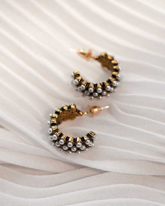 PHOEBE Pearl Earrings