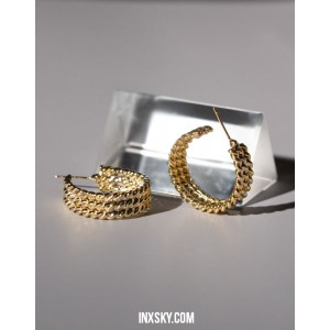 SOPHIA Hoop Earrings