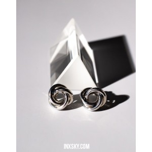 TRIO Silver Earrings