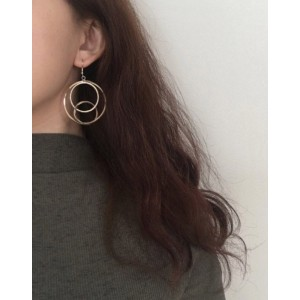 VENN Gold Earrings