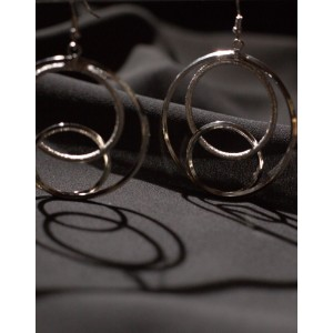 VENN Silver Earrings
