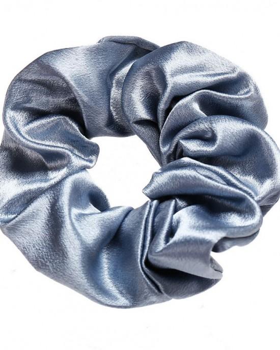 Silky Scrunchie | Baby Blue