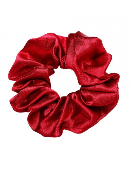 Silky Scrunchie | Crimson Red