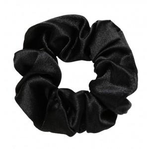 Silky Scrunchie | Inky Black