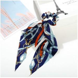 Strap Ponytail Holder   Royal Blue