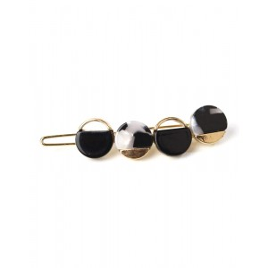BUBBLE Hair Barrette | Black Bubble
