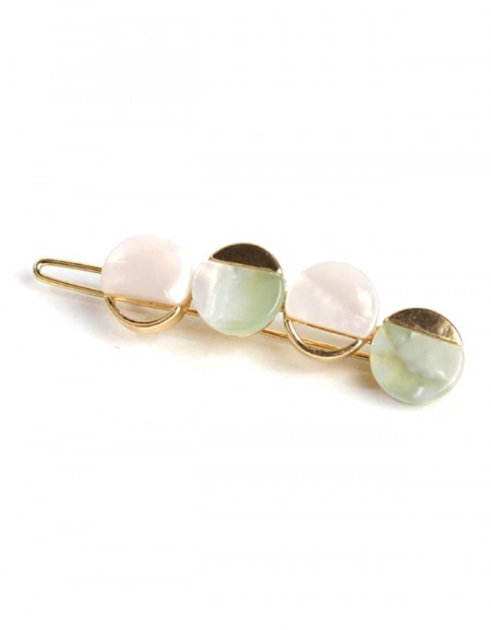 BUBBLE Hair Barrette | Mint Bubble