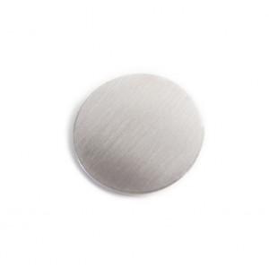 CIRCLE Hinged Barrette | Silver
