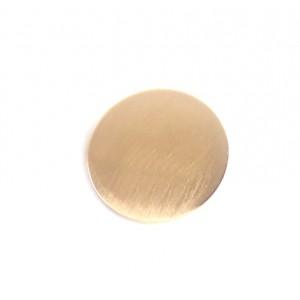 CIRCLE Hinged Barrette | Gold