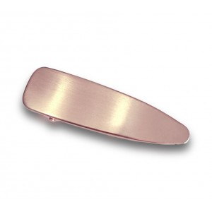 IRON Hinged Barrette | Filled Rose Gold