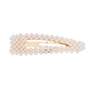 PEARL BEADS Hair Clips | Waterdrop Gold