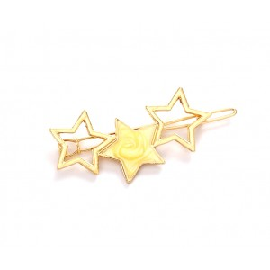 STELLAR Hair Barrette | Pastel Yellow