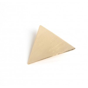 TRIANGLE Hinged Barrette | Gold