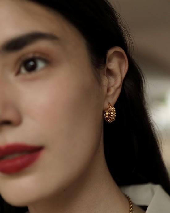 ADINA Gold Hoop Earrings