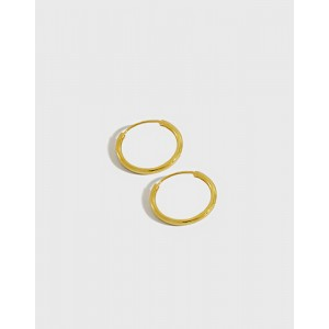 ANAIS Gold Vermeil Hoop Earrings | Small