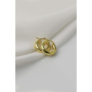 DORA Gold Vermeil Hoop Earrings