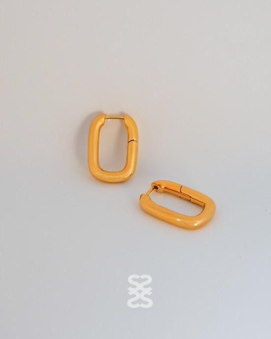 IVY Gold Hoop Earrings