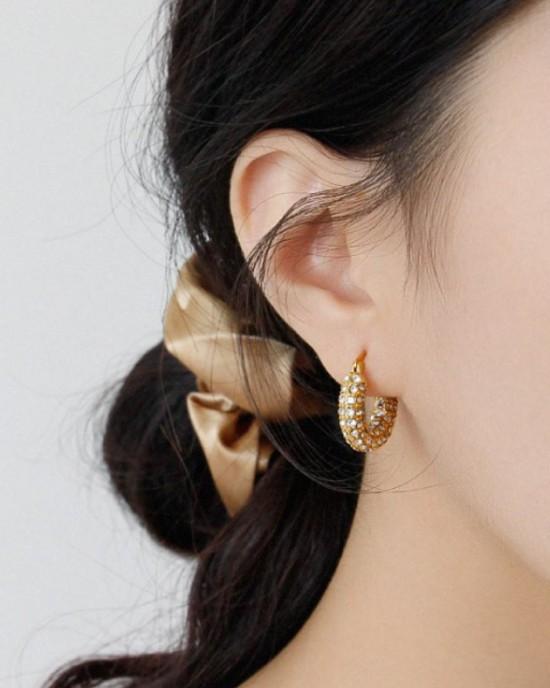 JOLIE Gold Hoop Earrings