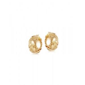 KARINA Gold Hoop Earrings