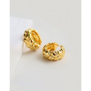 KARINA Gold Hoop Earrings