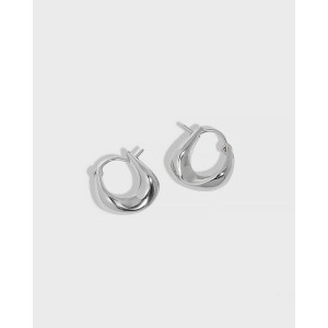 SIENNA Sterling Silver Hoop Earrings