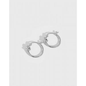 SIENNA Sterling Silver Hoop Earrings
