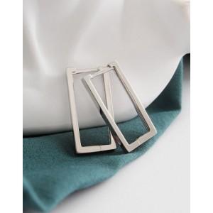 TEREZA Sterling Silver Hoop Earrings