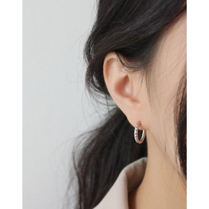 VEGA Sterling Silver Hoop Earrings