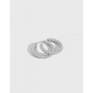 VEGA Sterling Silver Hoop Earrings