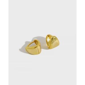 CARA Gold Vermeil Huggies