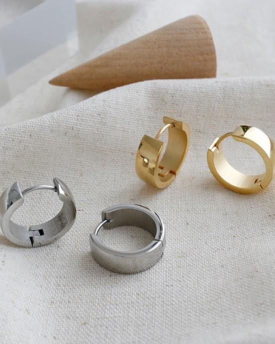 DANA Gold Huggies | Medium & Wide