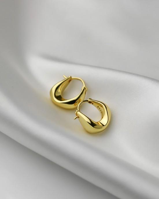 GABI Gold Vermeil Huggies